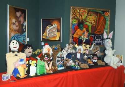 Puppet Planet Display