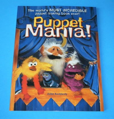 Puppet Mania Book Cover